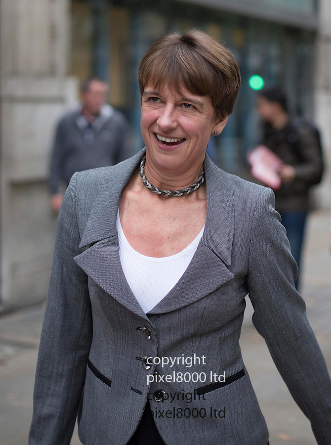 Pic shows: Once the first woman to present Channel 4's horse racing coverage, Lesley Graham chief executive of Racing Welfare<br /> <br /> leaves the tribunal after giving evidence today<br /> <br /> <br /> <br /> <br /> <br /> Day two: Industrial Tribunal London John McCririck outside the hearing where he will  contest his case against Channel 4 for age discrimination.<br /> <br /> Racing pundit John McCririck's employment tribunal over alleged age discrimination is to begin.<br /> <br /> The 73-year-old is taking former employer Channel 4 and TV production company IMG Media Limited to a tribunal, alleging his sacking last year was motivated by age discrimination.<br /> <br /> The case, at the Central London Employment Tribunal, is expected to last up to seven days. McCririck was dropped when the station unveiled a new presenting team headed by Clare Balding.<br /> <br /> <br /> <br /> <br /> Pic by Gavin Rodgers/Pixel 8000 Ltd 1.10.13<br /> <br /> <br /> <br /> <br /> Pic by Gavin Rodgers/Pixel 8000 Ltd