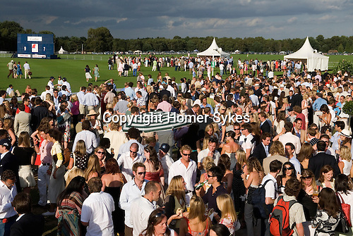 Cartier International Polo at the Guards Club, Smiths Lawn, Windsor Great Park, Egham Surrey. England 2006