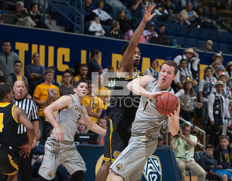Berkeley, Calif. - November 16, 2014: California defeated Kennesaw State 93-59 in a NCAA basketball game at Haas Pavilion.