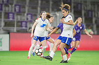 Orlando, FL - Saturday June 03, 2017: Angela Salem during a regular season National Women's Soccer League (NWSL) match between the Orlando Pride and the Boston Breakers at Orlando City Stadium.