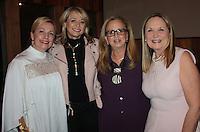 NWA Democrat-Gazette/CARIN SCHOPPMEYER Cynthia McClanahan, from left, Sheri Rothwell, Debbie Ogg and Marti Sudduth gather at Ooh! la, la!.