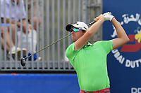 Alexander Bjork (SWE) tees off the 1st tee during Saturday's Round 3 of the 2018 Dubai Duty Free Irish Open, held at Ballyliffin Golf Club, Ireland. 7th July 2018.<br /> Picture: Eoin Clarke | Golffile<br /> <br /> <br /> All photos usage must carry mandatory copyright credit (&copy; Golffile | Eoin Clarke)