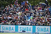 Simba signage.<br /> New Zealand Blackcaps v England. 5th ODI International one day cricket, Hagley Oval, Christchurch. New Zealand. Saturday 10 March 2018. &copy; Copyright Photo: Andrew Cornaga / www.Photosport.nz