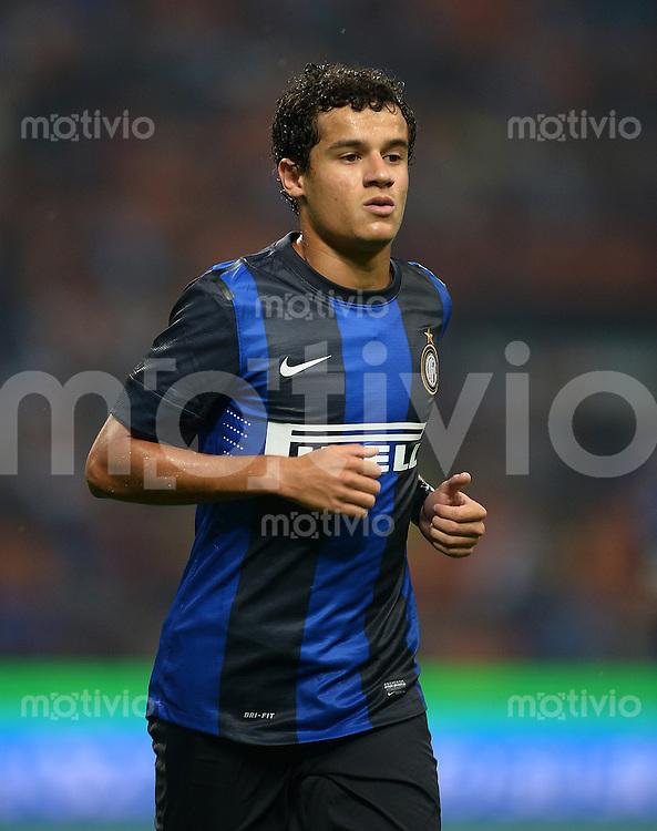 FUSSBALL INTERNATIONAL   SERIE A   SAISON 2012/2013    Europa League: Inter Mailand - FC Vaslui  30.08.2012 Coutinho (Inter Mailand)