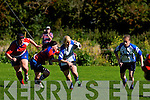 Tralee's Janet Garvey get by UL Bohemian defence at O'Dowd park, Tralee on Sunday.
