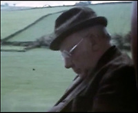 BNPS.co.uk (01202 558833)<br /> Pic: FrankWilliams/BNPS<br /> <br /> ****must use full byline****<br /> <br /> Screen grab of Arthur Lowe who plays Captain Mainwaring sleeping on the coach.<br /> <br /> Never-seen-before film of the cast of Dad's Army behind the scenes has emerged to show Private Pike wasn't such a 'stupid boy' after all.