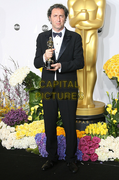 02 March 2014 - Hollywood, California - Paolo Sorrentino. 86th Annual Academy Awards held at the Dolby Theatre at Hollywood &amp; Highland Center. <br /> CAP/ADM<br /> &copy;AdMedia/Capital Pictures