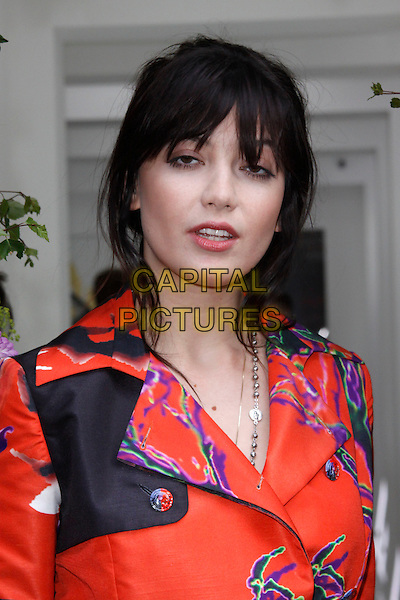 LONDON, ENGLAND - JUNE 03 :  Daisy Lowe arrives at the Vanessa Gounden - flagship store launch party at the Vanessa Gounden store on June 03, 2015 in London, England.<br /> CAP/AH<br /> &copy;AH/Capital Pictures