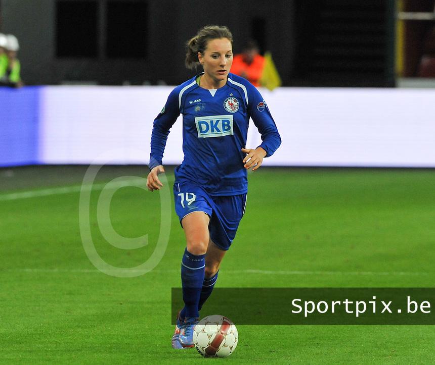 UEFA Women's Champions League: Standard de Liege v Turbine Potsdam ; Round of 32, First leg - 26/09/2012 - 19:00 CET - Stade Maurice Dufrasne - Liege :.Antonia Goransson.foto JOKE VUYLSTEKE / Vrouwenteam.be