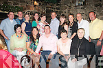 Jason McCormack,Killorglin(seated centre)celebrated his 30th birthday in Finnegan's restaurant,Tralee last Saturday evening in the company of(seated)L_R Theresa McCormack,Stacy O'Mahony,Jason McCormack with Rosiemarie&Catherine McCormack(back)L-R Sean Griffin,James McCormack,Leeann McCarthy,Aisling Redmond,Vicky McCarthy,Robert,Laura&Fiona McCormack,John Cox and dave Simpson.