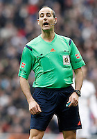 Spanish referee Alfonso Alvarez Izquierdo during La Liga match.January 31,2015. (ALTERPHOTOS/Acero) /NortePhoto<br />