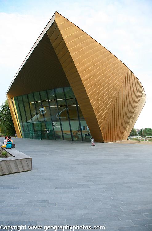 Firstsite contemporary arts gallery building, Colchester, Essex, England