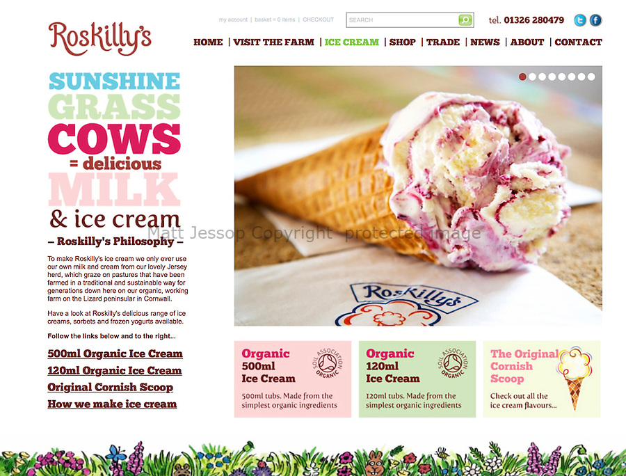 CLIENT: ROSKILLY'S // <br />