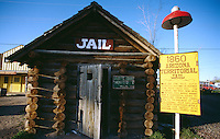 Old west jail.