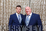 Enjoying the Kerry GAA awards night in the Ballygarry House Hotel on Saturday night.<br /> Chris Flannery (Tralee) and Colm Whelan (St Senans).