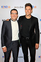 CLVER CITY - AUG 4: Kain O'Keeffe, Lincoln Younes at Kind Los Angeles: Coming Together for Children Alone at Bolon at Helms Design Center on August 4, 2018 in Culver City, CA