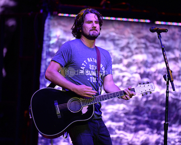 HOLLYWOOD FL - JULY 30:  Matt Nathanson performs at Hard Rock Live held at the Seminole Hard Rock Hotel & Casino on July 30, 2014 in Hollywood, Florida. Credit: mpi04/MediaPunch