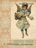 Addy, CHRISTMAS CHILDREN, paintings,+angels, vintage,++++,GBAD122658,#XK# Weihnachten, nostalgisch, Navidad, nostálgico, illustrations, pinturas