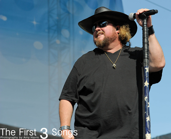 Colt Ford performs at the Riverfront Stage during the 2012 CMA Music Festival in Nashville, Tennessee.