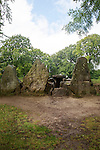 Wayland´s Smithy is an historic Neolithic chambered long barrow on the Ridgeway near Ashbury, Oxfordshire, England