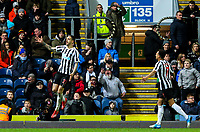 Newcastle United's Joselu celebrates scoring his side's third goal <br /> <br /> Photographer Alex Dodd/CameraSport<br /> <br /> Emirates FA Cup Third Round Replay - Blackburn Rovers v Newcastle United - Tuesday 15th January 2019 - Ewood Park - Blackburn<br />  <br /> World Copyright &copy; 2019 CameraSport. All rights reserved. 43 Linden Ave. Countesthorpe. Leicester. England. LE8 5PG - Tel: +44 (0) 116 277 4147 - admin@camerasport.com - www.camerasport.com