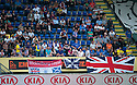 Fernando Ricksen Testimonial :  Some of the Rangers fans who travelled to Sittard for the game.