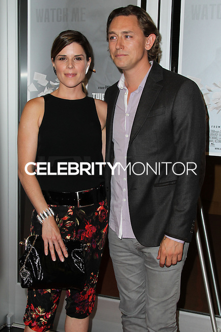 HOLLYWOOD, LOS ANGELES, CA, USA - JUNE 09: Neve Campbell, JJ Feild at the Los Angeles Premiere Of Sony Pictures Classics' 'Third Person' held at the Linwood Dunn Theater at the Pickford Center for Motion Study - Academy of Motion Picture Arts and Sciences on June 9, 2014 in Hollywood, Los Angeles, California, United States. (Photo by Xavier Collin/Celebrity Monitor)