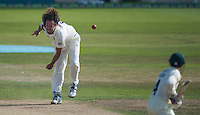 Picture by Allan McKenzie/SWpix.com - 11/09/2014 - Cricket - LV County Championship Div One - Nottinghamshire County Cricket Club v Yorkshire County Cricket Club - Trent Bridge, West Bridgford, England County Cricket Club - Yorkshire's Ryan Sidebottom in delivery stride.