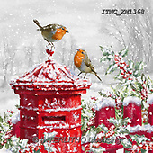 Marcello, CHRISTMAS LANDSCAPES, WEIHNACHTEN WINTERLANDSCHAFTEN, NAVIDAD PAISAJES DE INVIERNO, paintings+++++,ITMCXM1368,#XL# ,red robin