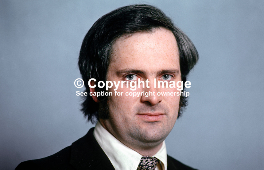 John Bruton, TD, Fine Gael, Rep of Ireland, Parliamentary Secretary to the Minister for Education & Industry & Commerce, March 1975, 197503000191b..Copyright Image from Victor Patterson, 54 Dorchester Park, Belfast, UK, BT9 6RJ..Tel: +44 28 9066 1296.Mob: +44 7802 353836.Voicemail +44 20 8816 7153.Skype: victorpattersonbelfast.Email: victorpatterson@me.com.Email: victorpatterson@ireland.com (back-up)..IMPORTANT: If you wish to use this image or any other of my images please go to www.victorpatterson.com and click on the Terms & Conditions. Then contact me by email or phone with the reference number(s) of the image(s) concerned.