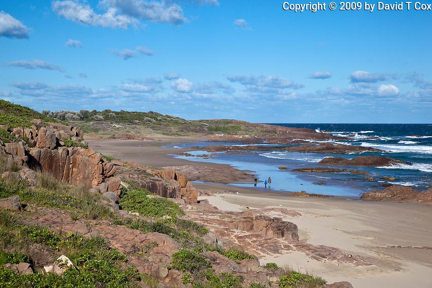Biruli Beach, Nelson Bay, NSW, Australia