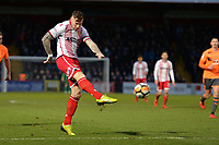 Jack King of Stevenage during Stevenage vs Reading, Emirates FA Cup Football at the Lamex Stadium on 6th January 2018