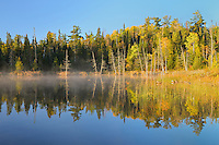 Lyons Lake at sunrise<br /> Whiteshell Provincial Park<br /> Manitoba<br /> Canada