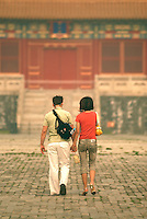The Palace Museum in Beijing, known as the Forbidden City, receives about 7 million visitors both from home and abroad...