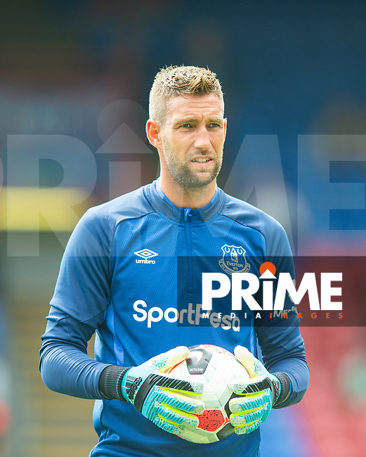 Everton Maarten Stekelenburg during the Premier League match between Crystal Palace and Everton at Selhurst Park, London, England on 10 August 2019. Photo by Andrew Aleksiejczuk / PRiME Media Images.