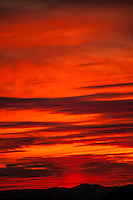 Red Clouds at Dawn