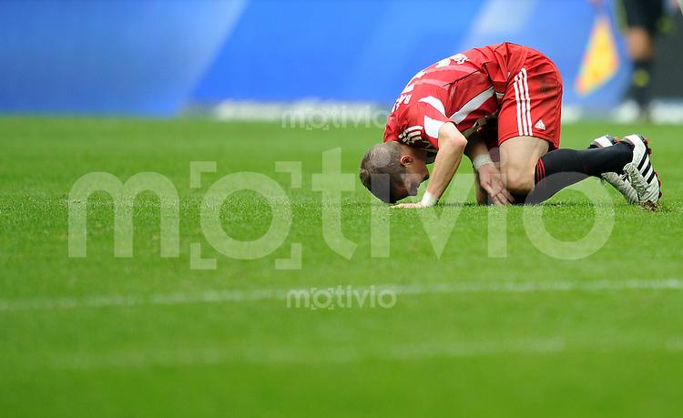Fussball 1. Bundesliga :  Saison   2010/2011   4. Spieltag  18.09.2010 FC Bayern Muenchen - 1 FC Koeln Bastian Schweinsteiger (FC Bayern Muenchen)