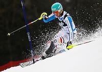 ZAGREB, CROACIA, 06 JANEIRO 2013 - COPA DO MUNDO DE ESQUI ALPINO - O competidor Felix Neureuther da Alemanha durante a competicao de Slalom Gigante para homens durante a Copa do Mundo de Esqui Alpino em Zagreb na Croacia, neste domingo, 06/01/2013. (FOTO: PIXATHLON / BRAZIL PHOTO PRESS).