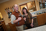 Amador Vintner's Behind the Cellar Door event at the wineries of Amador County..Jeff Runquist and his wife, Margie, at their Shenandoah Valley tasting room