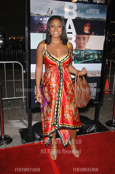 "LEILA ROCHON at the Los Angeles premiere of ""Babel""..November 5, 2006  Los Angeles, CA.Picture: Paul Smith / Featureflash"