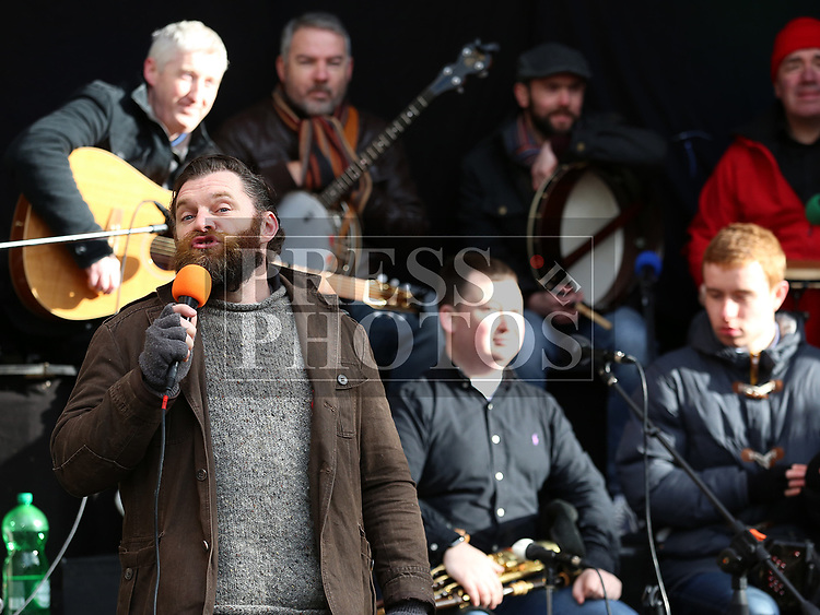 Cíanán Mac Reamoinn at Music at the Gate, Laurence's Gate<br /> <br /> <br /> photo - Jenny Matthews