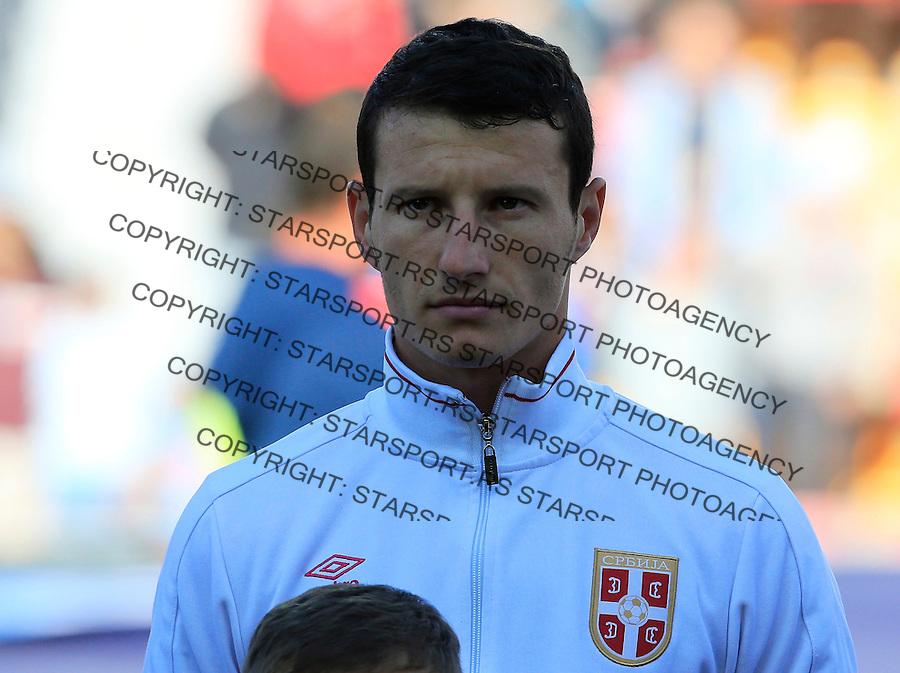 Fudbal UEFA EURO U-21Czech Republic<br /> Srbija U21 v Ceska U21<br /> Slavoljub Srnic<br /> Prague, 20.06.2015.<br /> foto: Srdjan Stevanovic/Starsportphoto &copy;
