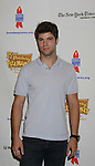 """One Life To Live's Nic Robuck """"James Ford"""" attends the 25th Annual Broadway Flea Market & Grand Auction to benefit Broadway Cares/Equity Fights Aids on September 25, 2011 in New York CIty, New York.  (Photo by Sue Coflin/Max Photos)"""
