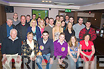DOUBLE: Double 30th birthday celebrations in the Abbey Inn, Tralee on Saturday night as Dave Curran (Leith) and Kenneth Harris (Tralee) celebrated their 30th Birthday with family and friends, (dave is seated 3rd from left and kenmneth 4th from left).................................. ....