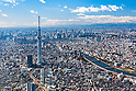File Photo Showing an aerial view of Tokyo Skytreetaken on February 9th, 2012. Tokyo Skytree opened to the public on May 22nd in clouds and rain. It is the world's tallest tower and the second tallest building in the world. On a clear day visitors can enjoy beautiful views of Tokyo and can see as far as Mt. Fuji. (Photo by Masanori Yamanashi/AFLO)