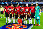 Manchester United squad pose for team photo during the UEFA Champions League 2018-19 match between Valencia CF and Manchester United at Estadio de Mestalla on December 12 2018 in Valencia, Spain. Photo by Maria Jose Segovia Carmona / Power Sport Images
