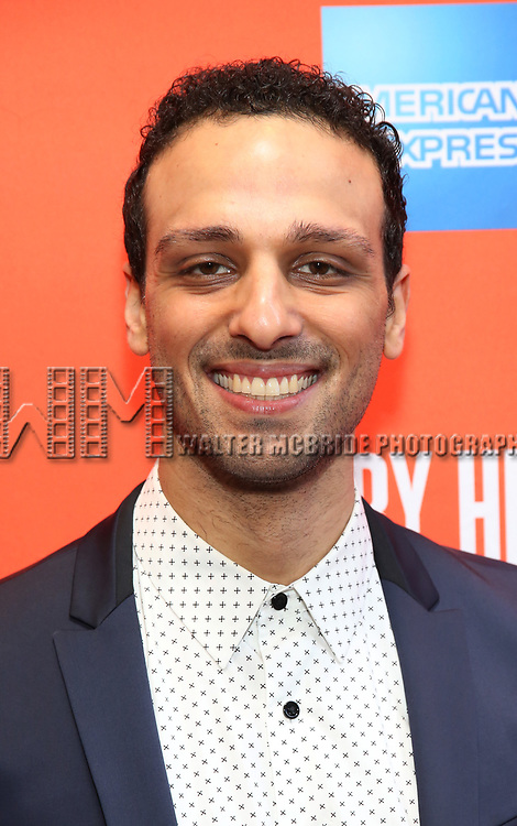 """Ari'el Stachel attending the Broadway Opening Night Performance of  """"Lobby Hero"""" at The Hayes Theatre on March 26, 2018 in New York City."""