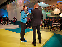 10-02-14, Netherlands,Rotterdam,Ahoy, ABNAMROWTT,, , Andy Murray<br /> Photo:Tennisimages/Henk Koster