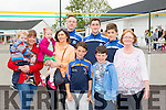 Paddy Hurley, Nollaig Hurley, Anna Hurley, Ann O'Neill, Jim Nagle, Luke Flynn, Kian Flynn, Eden Murphy, Ger McCarthy and Marie Kelleher Teacher at the St Josephs NS anniversary celebration  family fun day on Sunday