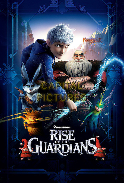 POSTER ART .in Rise of the Guardians (2012) .*Filmstill - Editorial Use Only*.CAP/FB.Supplied by Capital Pictures.